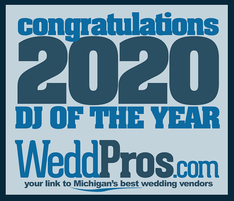 Congratulation to Sparty DJs, WeddPros DJ of the year for 2020